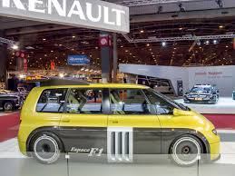 renault espace f1 oddities and awesomeness 10 must see cars from retromobile