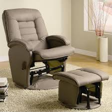 Recliner Rocker Chair Coaster Recliners With Ottomans Glider Chair With Ottoman In
