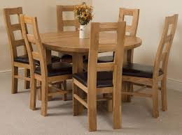 Dining Room Furniture Edmonton Edmonton Solid Oak Extending Oval Dining Table With 6 Yale Solid
