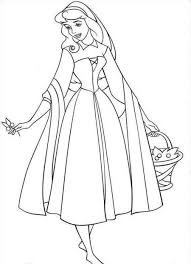 free printable sleeping beauty coloring pages kids