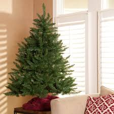 finley home classic fir pre lit tree with burlap base