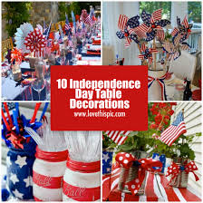 Memorial Day Decor 10 Independence Day Table Decorations