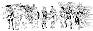pictures justice league coloring pages 52 for your free coloring