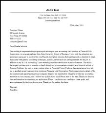 sample cover letter for accounting clerk entry level accounting