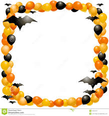 halloween background for word doc border almost clipart