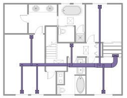 how to floor plans ductwork layout