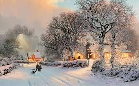future village wallpapers winter wallpaper hd qygjxz