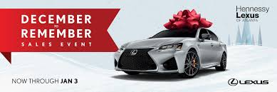 lexus dealers atlanta hennessy lexus of atlanta 2016 december newsletter