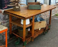 unique and antique factory cart coffee table is also a kind of