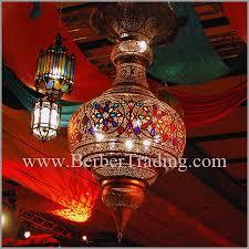 baroque moroccan hanging lamp