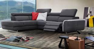 canap de relaxation lenzo angle ou canapé relaxation en option sur univers du cuir