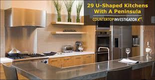 kitchen peninsula designs 29 u shaped kitchens with a peninsula