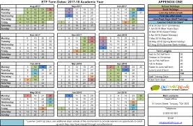 term dates for academic year 2017 2018