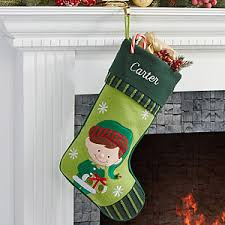 personalized christmas stockings boy elf christmas gifts