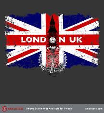Union Flags London Uk Beautiful Union Flag Tribute To London Anglotees
