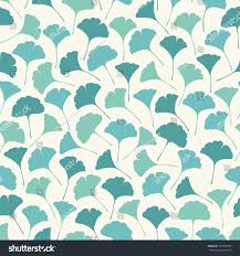 delicate spring seamless texture leaves endless stock vector