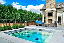 small inground pools fiberglass small inground swimming pool