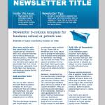 free business newsletter templates for microsoft word word