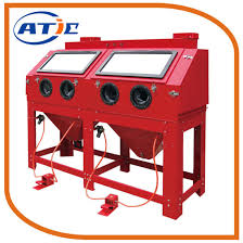 sandblaster cabinet for sale china paralleled cabinet sand blasting machine 880l sandblaster