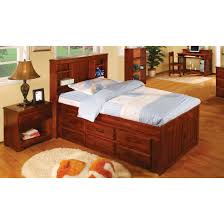 King Bed With Trundle Bedroom Twin Captain Bed With Trundle Captains Beds King Size