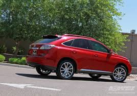 tire size lexus rx 350 lexus rx 350 custom wheels gianelle spidero 5 22x et tire size
