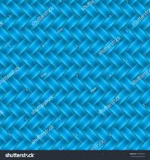 Blue Pattern Background Cerulean Blue Color Wicker Seamless Pattern Stock Vector 550538536