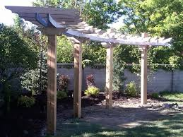 arched pergola plans outdoor goods