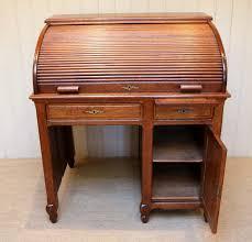 Oak Roll Top Secretary Desk by Antique Roll Top Desk Oak Vintage Desk Roll Top Secretary Wood