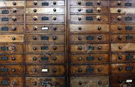 old archive drawers cabinet stock photo picture and royalty free
