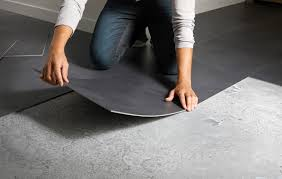 dalles pvc cuisine minimaliste de maison couleur ainsi que dalle garage pvc