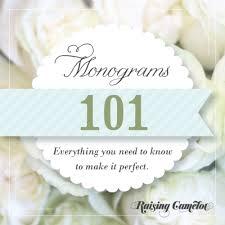 Initial Monogram Fonts Monograms 101