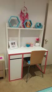 micke desk from idea styles with decor from kmart and big w
