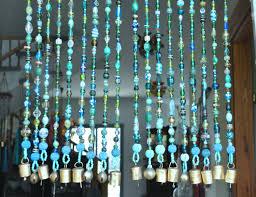 Crystal Beaded Curtains Australia by Beaded Curtain Bohemian Curtain Window Curtain Beaded Door