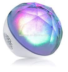 powered led light wireless ohm dj bluetooth speaker with sd card