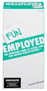amazon com funemployed the interview game of actual jobs and