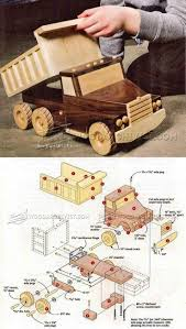Build Big Wood Toy Trucks by Best 25 Wooden Toys Ideas On Pinterest Wooden Animals Wooden