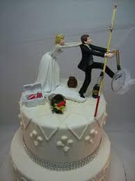 tiered bass fish wedding cake cakes pinterest bass wedding