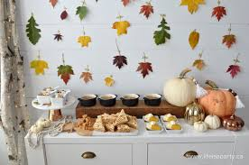 easy fall thanksgiving dessert table buffet