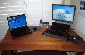 Home Office Setups by Laptop Desk Setup U2013 Laptop Monitor Desk Setup Laptop External