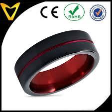 cincin tungsten carbide warna disesuaikan tersedia mode pernikahan engagement cincin