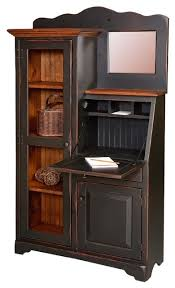 desk and bookshelves handmade amish secretary desk and bookcase side by side with
