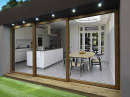 online home design door design white wooden framed glass sliding door with modern
