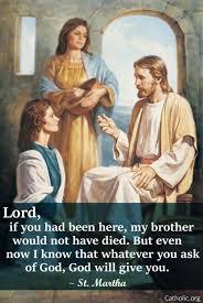 Martha Meme - your daily inspirational meme st martha socials catholic online
