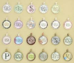 monogram jewelry cheap monogrammed necklaces so easy to make with scrapbook paper and a