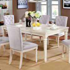 White Wooden Dining Table And Chairs Shabby Chic Dining Room U0026 Kitchen Tables Shop The Best Deals For