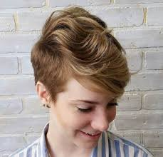 short hairstyles with 1 side longer 22 hottest easy short haircuts for women pretty designs