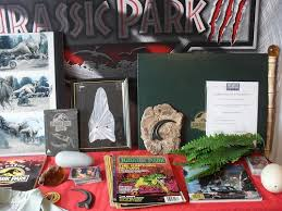 jurassic park dinosaur models props memorabilia