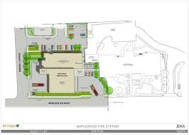 Firehouse Floor Plans by Maplewood Fire Station U2014 Jema