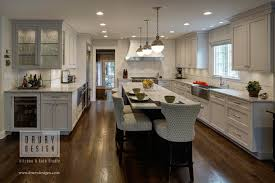 kitchen cabinets open floor plan open concept l shaped kitchen before and after drury design
