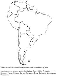 south america map printable